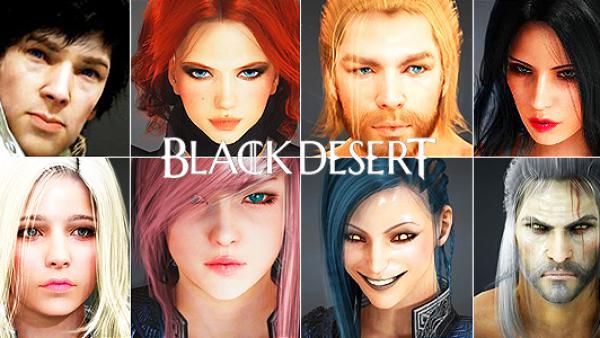 Editor de personajes Black Desert Online