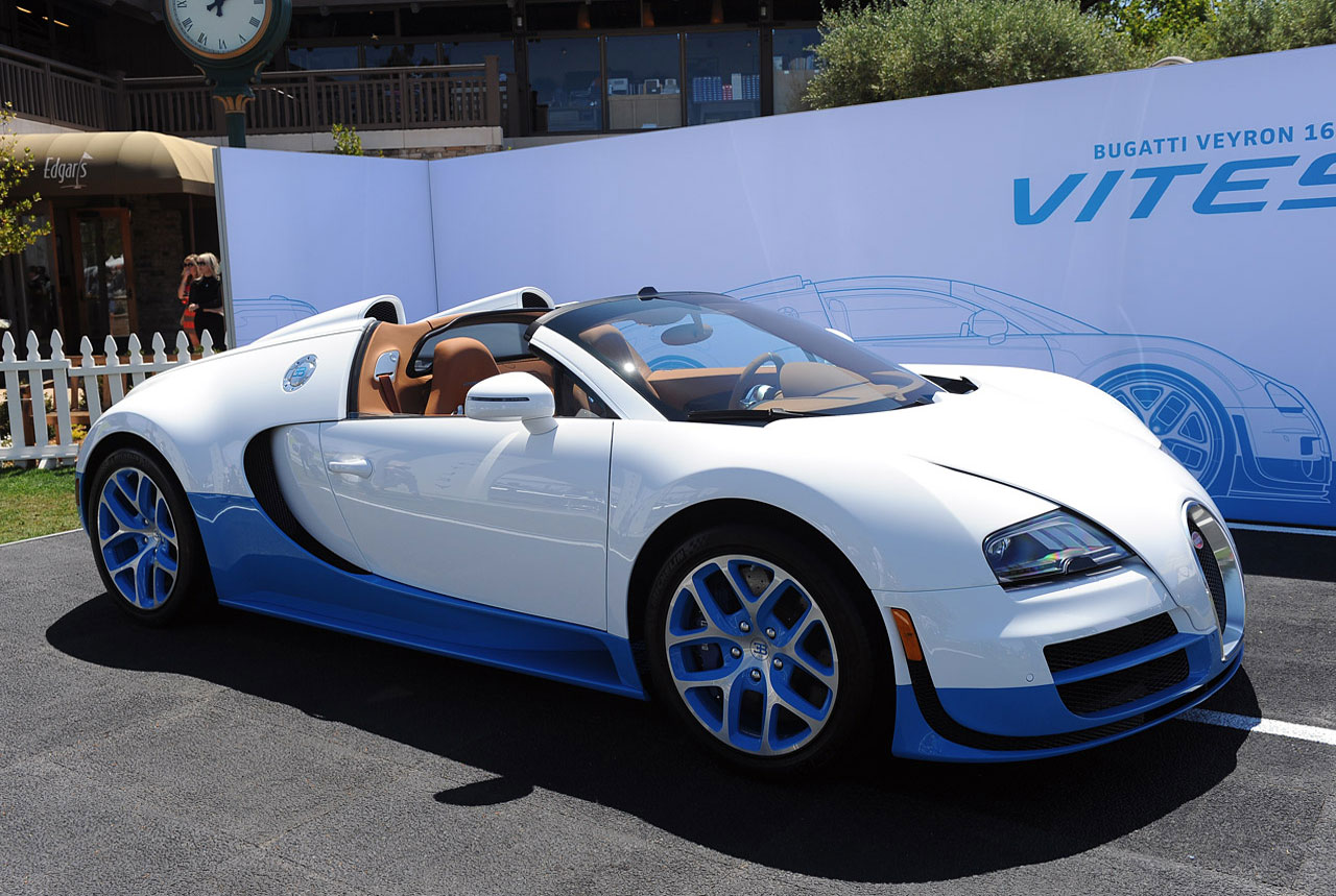 cars model 2013 2014 2015 bugatti veyron grand sport vitesse zooms into jay leno 39 s garage. Black Bedroom Furniture Sets. Home Design Ideas