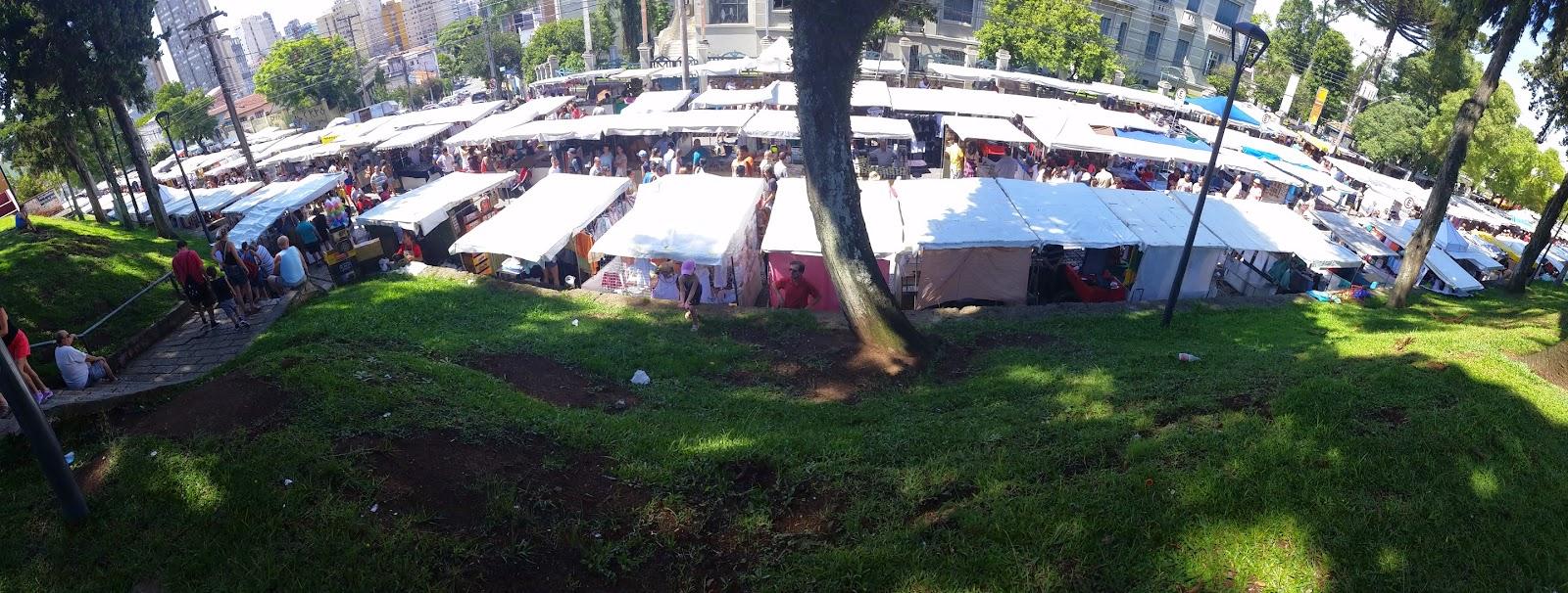 Feira do Largo da Ordem - Curitiba - PR - VIAJAR - TURISMO E VIAGEM
