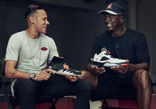 Neymar Jr. e Michael Jordan