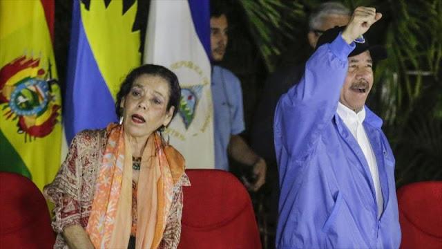 EEUU sanciona a vicepresidenta de Nicaragua y a asesor de Ortega