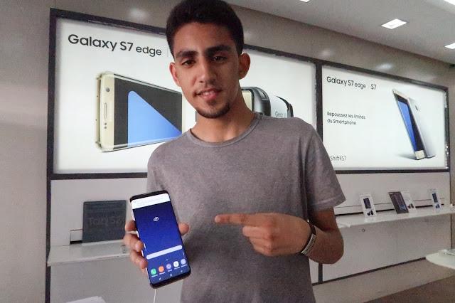 مراجعة سريعة لجهاز Samsung Galaxy S8
