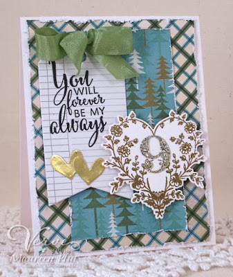 Card by Maureen Plut using Verve Stamps  www.vlvsketches.blogspot.com