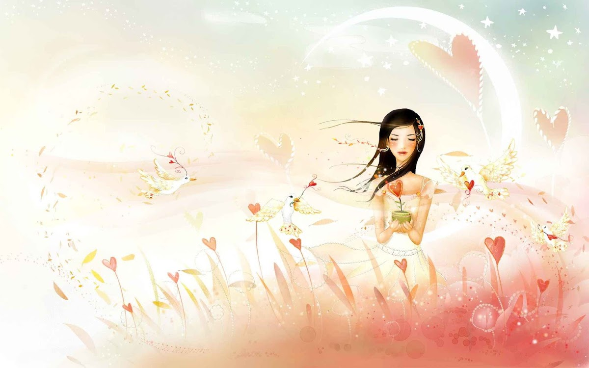 Digital Drawing Widescreen HD Wallpaper 28