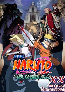 Baixar Torrent Naruto Filme 2 - Grande Colisão As Fantásticas Ruínas das Profundezas! Download Grátis