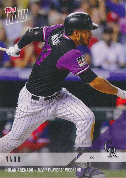 cae31068e Condition Sensitive  Rockies Topps Now Player s Weekend Review