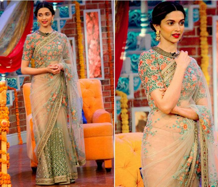 40 Best Images Of Deepika Padukone In Saree || Deepika ...
