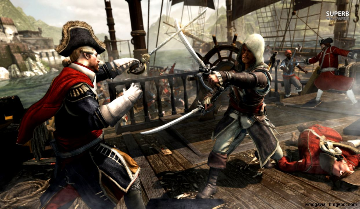 Assassins Creed Iv Black Flag Game Wallpapers Mega Wallpapers