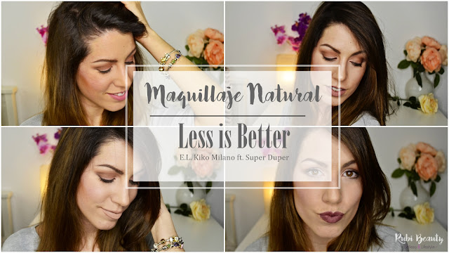 tutorial maquillaje no makeup natural diario #lessisbetter kiko cosmetics