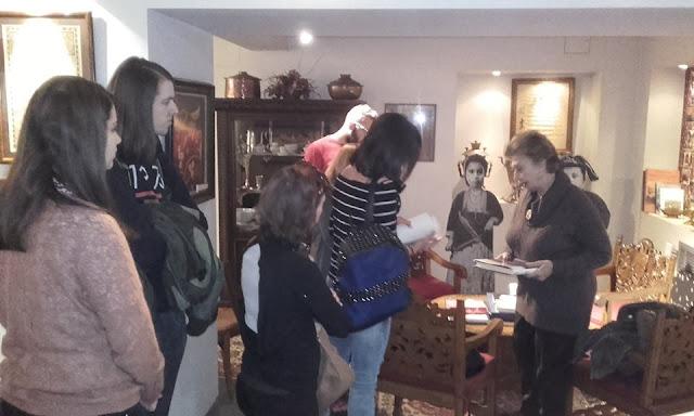 Το μουσείο της Μέριμνας Ποντίων Κυριών, επισκέφθηκαν φοιτητές της έδρας Ποντιακών σπουδών