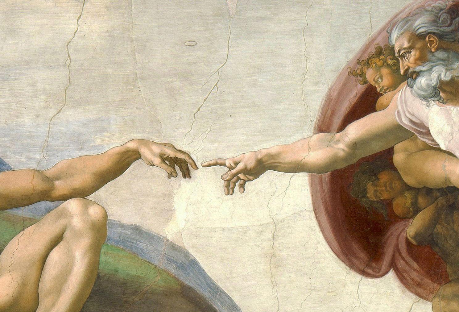sistine chapel god and man relationship