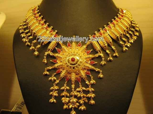 22K Kerala Gold Jewelry  Jewellery Designs
