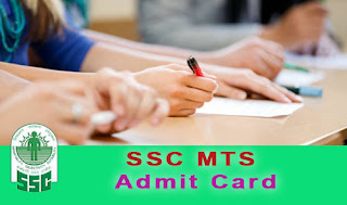 ssc mts admit card 2017 - 2018