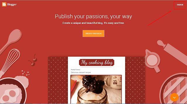 Mudahnya Cara Membuat Blog Gratis Dari Blogger