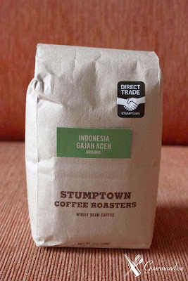 Gourmandise café stumptown