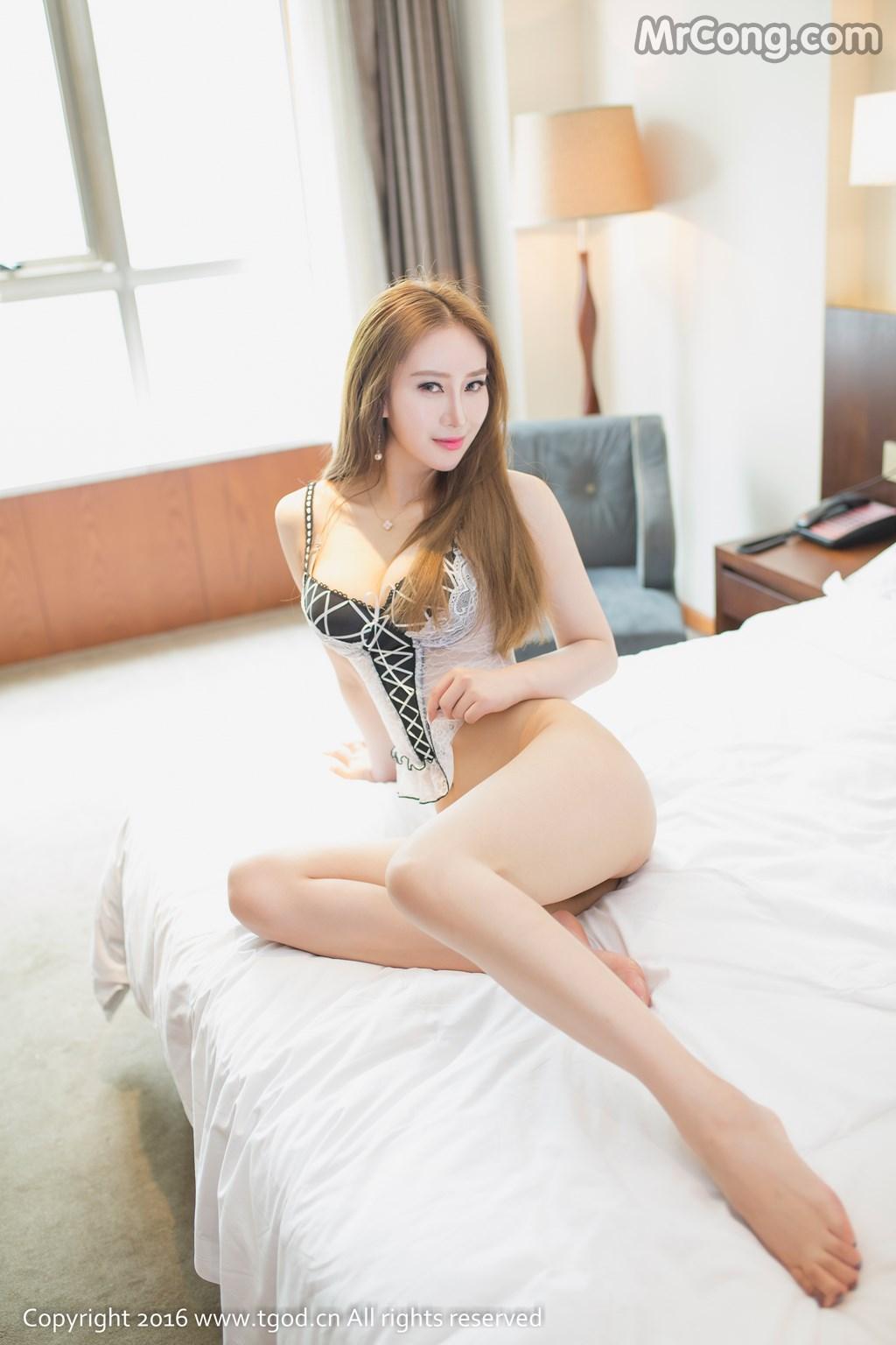 TGOD 2016-07-05: Người mẫu Ting Ting (婷婷) (50 ảnh)