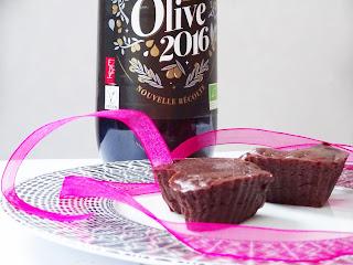 Coeurs coulants chocolat noir de la Saint-Valentin - Prim'Olive 2016 Vigean