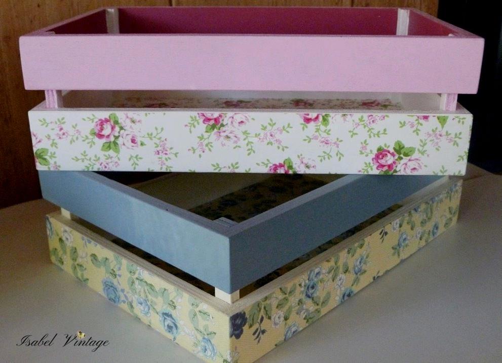 Cajas de fruta shabby chic isabel vintage - Cajas de madera de fruta gratis ...