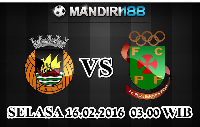 AGEN BOLA - Prediksi Rio Ave vs Pacos de Ferreira 16 Februari 2016