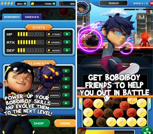 Download BoBoiBoy Power Spheres Mod Apk Offline