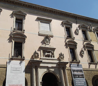 The Palazzo Bo at the University of Padua, where Lawrence acquired his command of languages