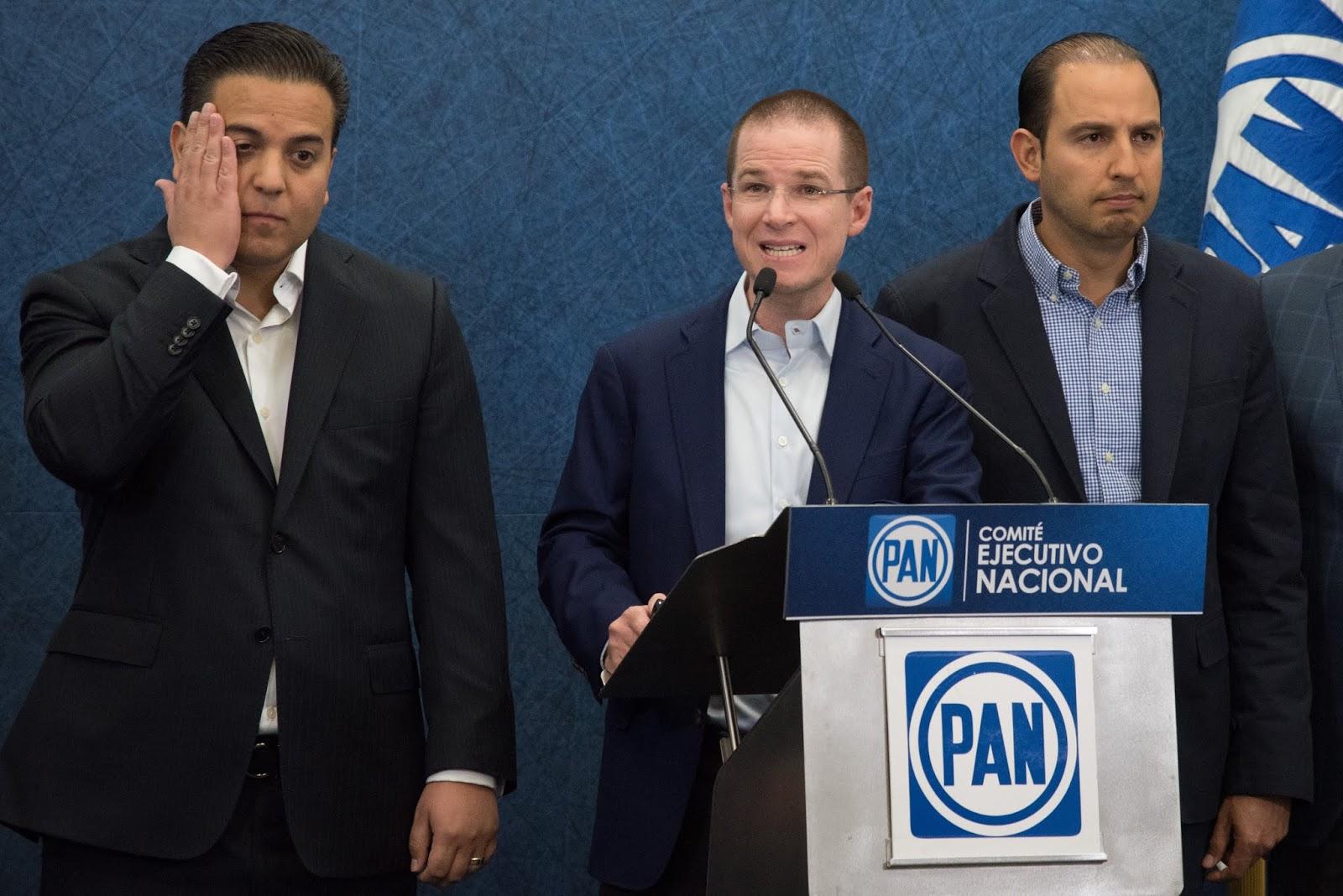 Otra vez el presidente llorón del PAN, no quiere a los delegados estatales de AMLO