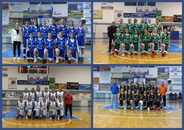 ΕΟΚ | Camp μπάσκετ Ανάπτυξης U14 Koριτσιών: Αποτελέσματα - Αγώνες (17/11) Φωτορεπορτάζ fb.