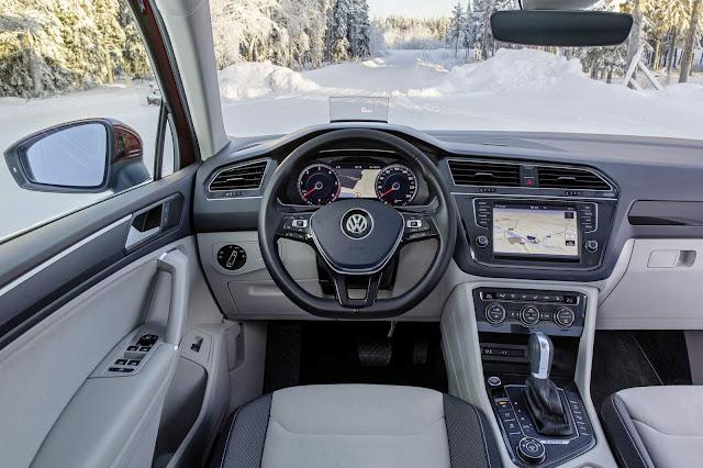 Novo VW Tiguan 2017 - interior