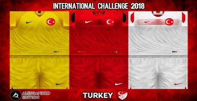 PES 6 Kits Turkey National Team Season 2018/2019 by Alessandro