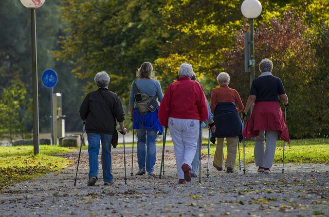 Group of People Walking Together