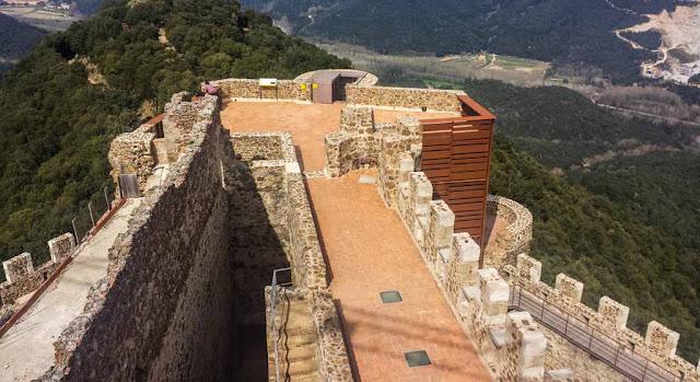 Vistas Castell de Montsoriu