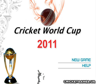 Online ICC Cricket World Cup 2011 Game