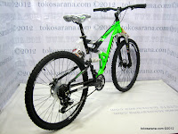 26 Inch Pacific Tarago CX7 Aluminium Alloy Frame Full Suspension Mountain Bike