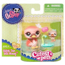 Littlest Pet Shop Mommy & Baby Swan (#2503) Pet