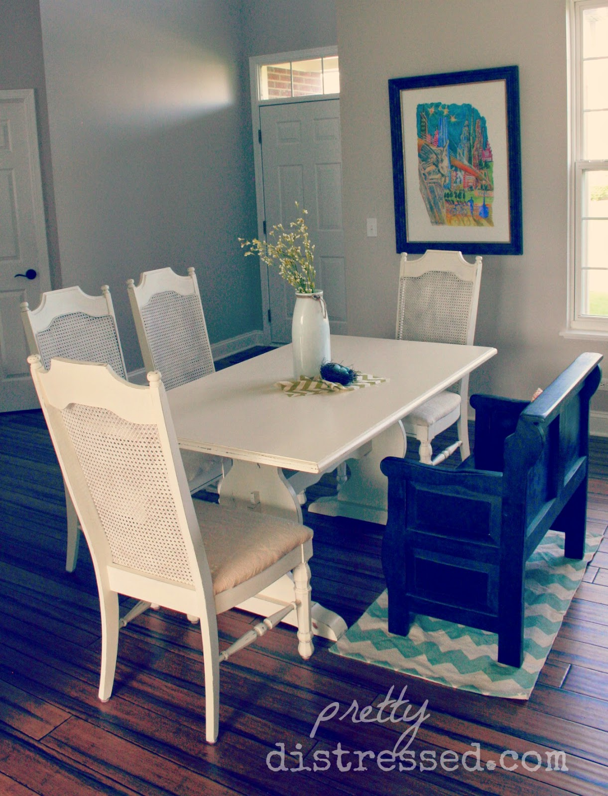 Pretty Distressed: Using A Polycrylic Sealer With Chalk Paint®