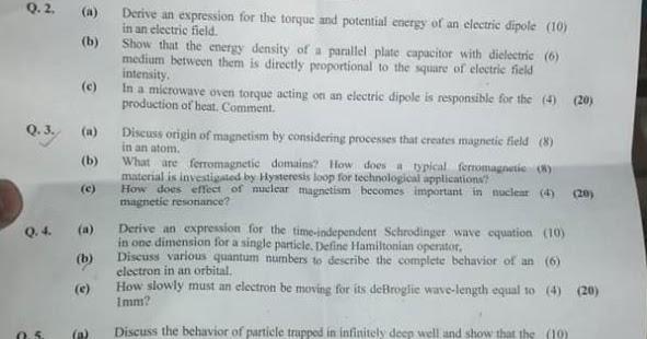 CSS Physics Paper 2 2019 - Ratta pk