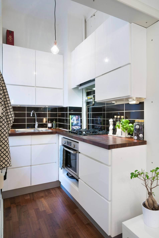 Organizar una cocina peque a decoshabby for Cocinas en forma de l
