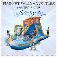 Plummet Falls Water Slide Giveaway