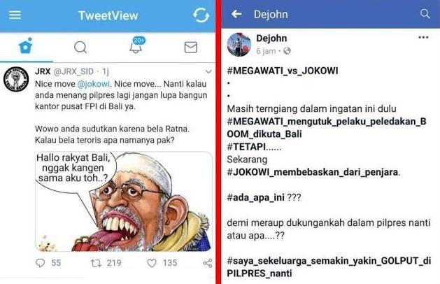 Pembebasan Ustadz Abu Bakar Baasyir, Pendukung Jokowi Marah Mengancam Golput