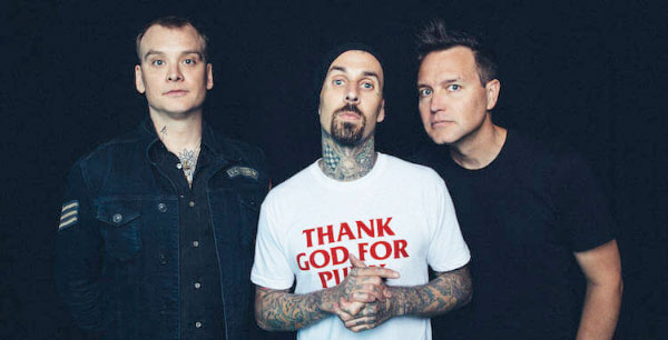 "blink-182 stream new fast song ""Parking Lot"""