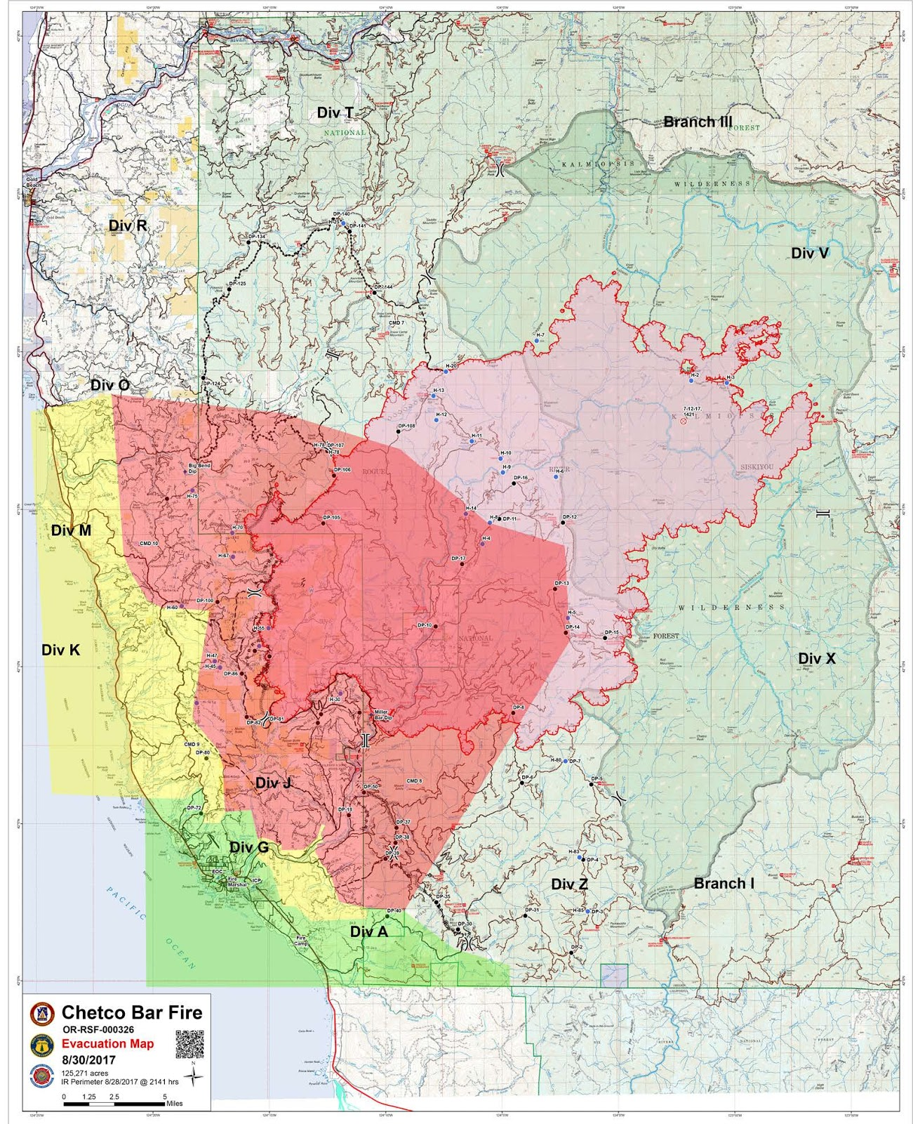several large wildfires are burning in southwest oregon area closures have been implemented on the rogue river siskyou national forest and blm lands