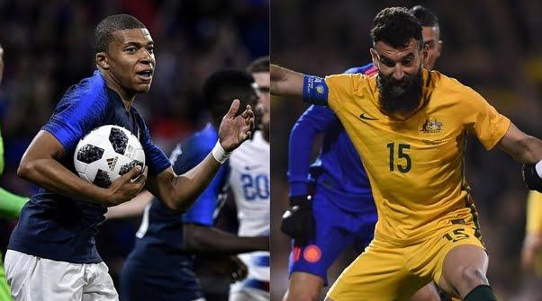 Mondiali 2018: Francia-Australia Streaming e Diretta TV su Canale 5