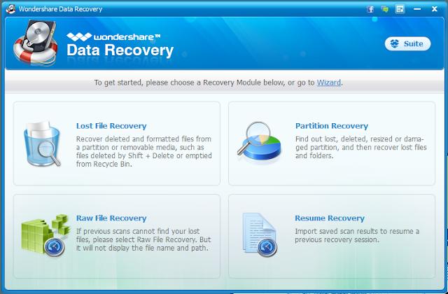 Wondershare Data Recovery Actvation Code Windows
