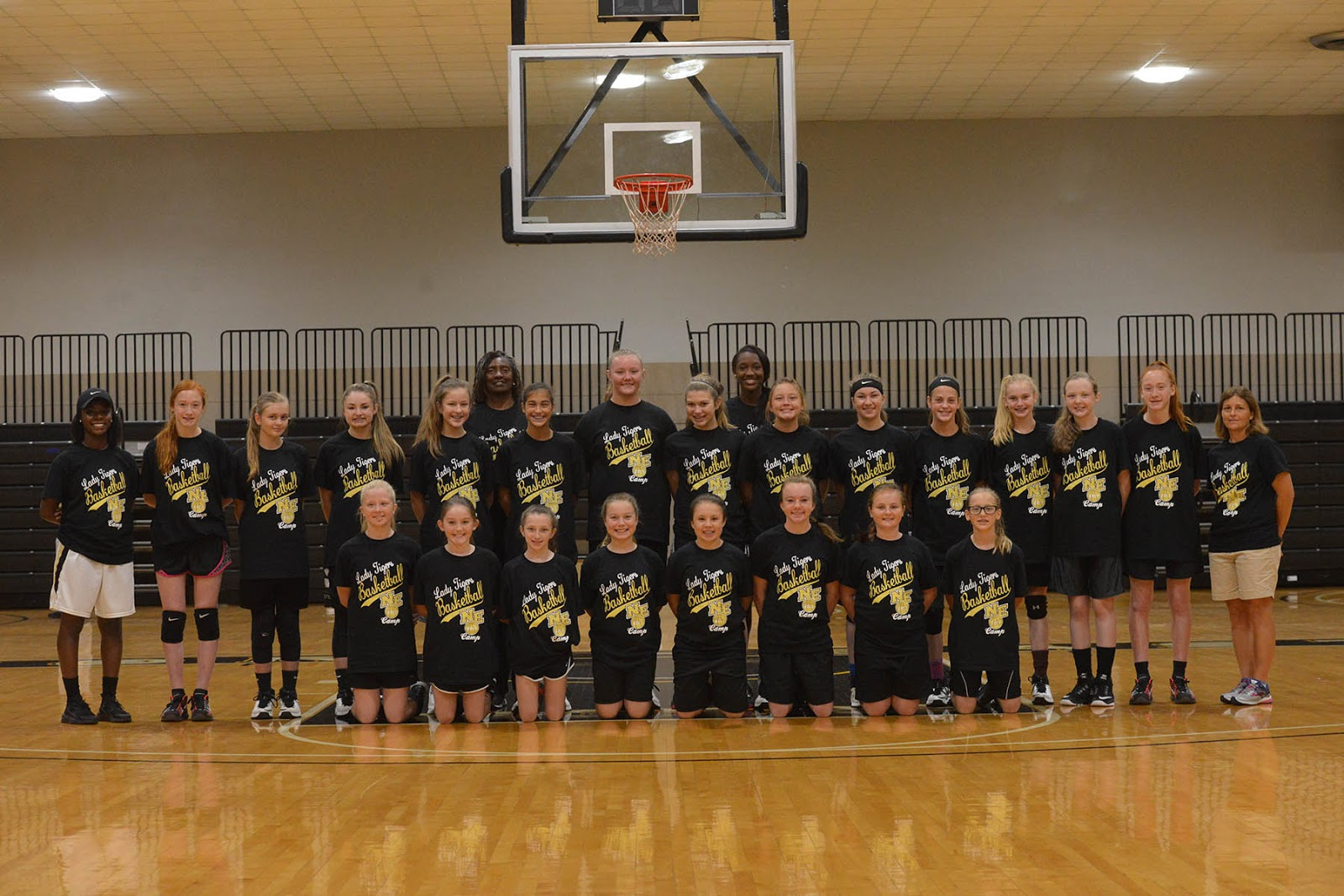 Alcorn Countians Attend Lady Tigers' First Basketball Camp