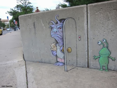 01-Bump-In-the-Day-Artist-David-Zinn-Chalk-Street-Art-www-designstack-co