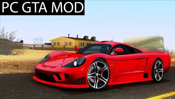 Free Download Saleen S7  Mod for GTA San Andreas.
