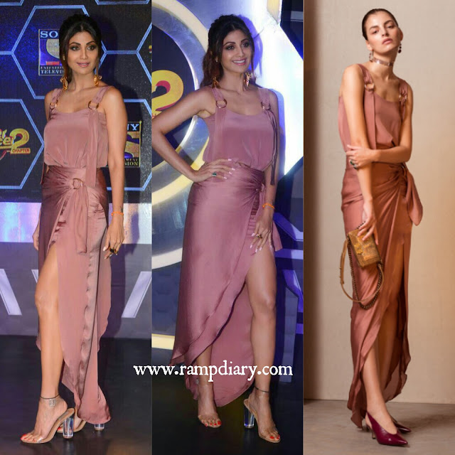 Shilpa Shetty In Lola By Suman B for Super Dancer Press Conference