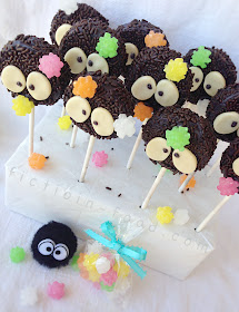 Fiction Food Cafe Soot Sprite Cookie Pops Spirited Away Totoro