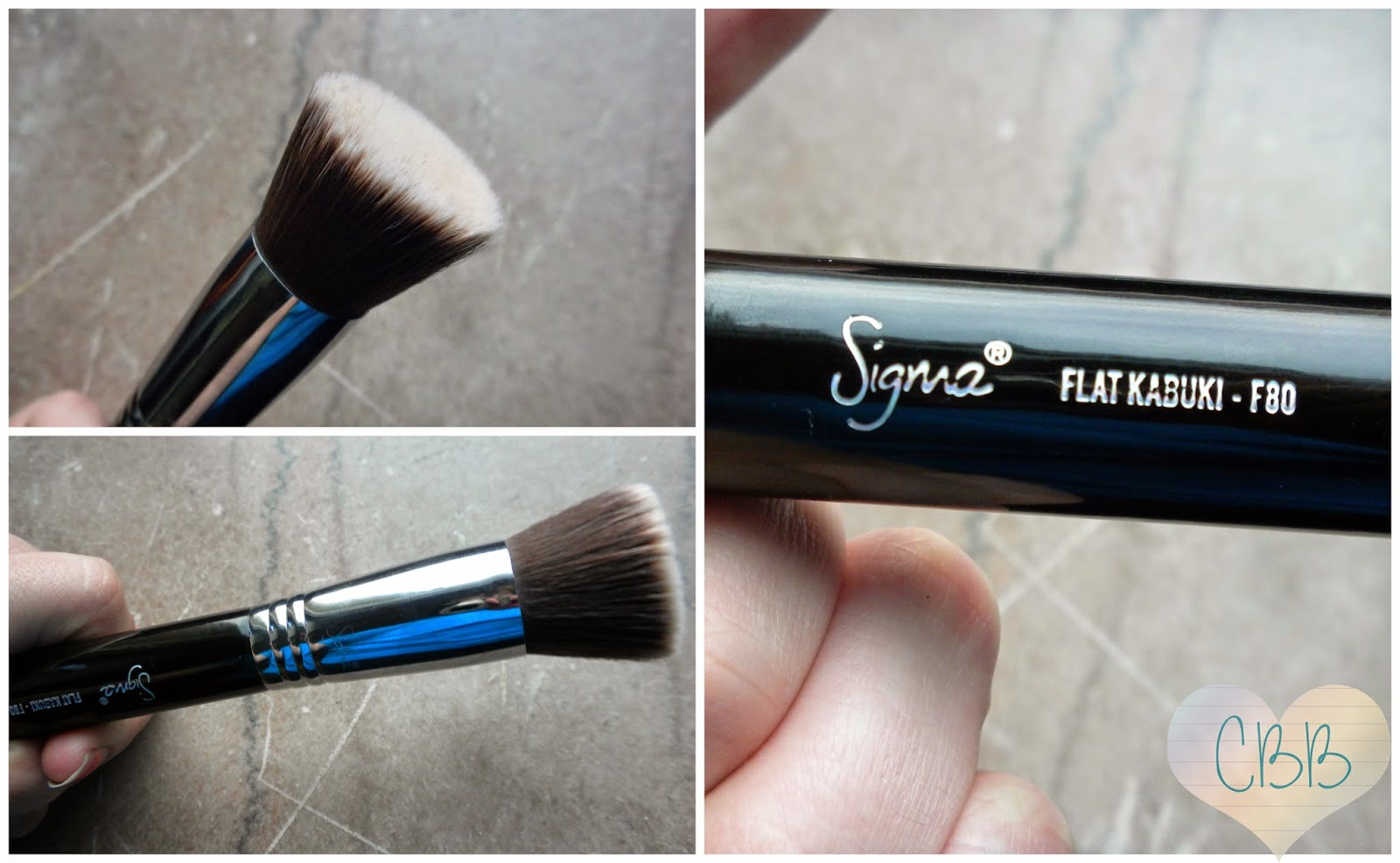 Best Face Brush - SIGMA BEAUTY Sigmax F80 Flat Kabuki ($24)