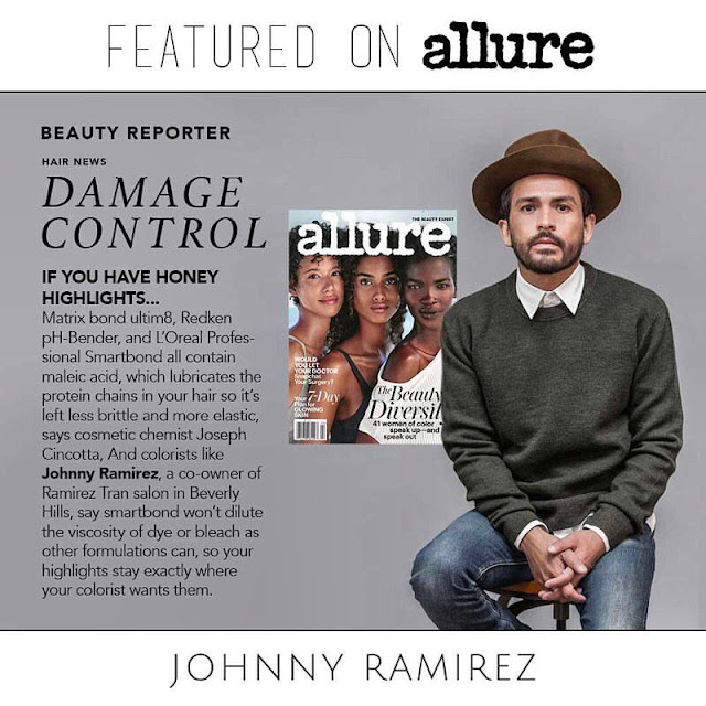 Johny Ramirez, Ramirez Tran Salon, Lived in Color, Alure, press, Damaged hair